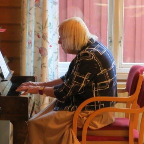 5. Vienon pianonsoittoa – Vieno spelar på pianot